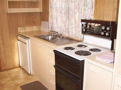 Honey Hush Caravan Kitchen Interior